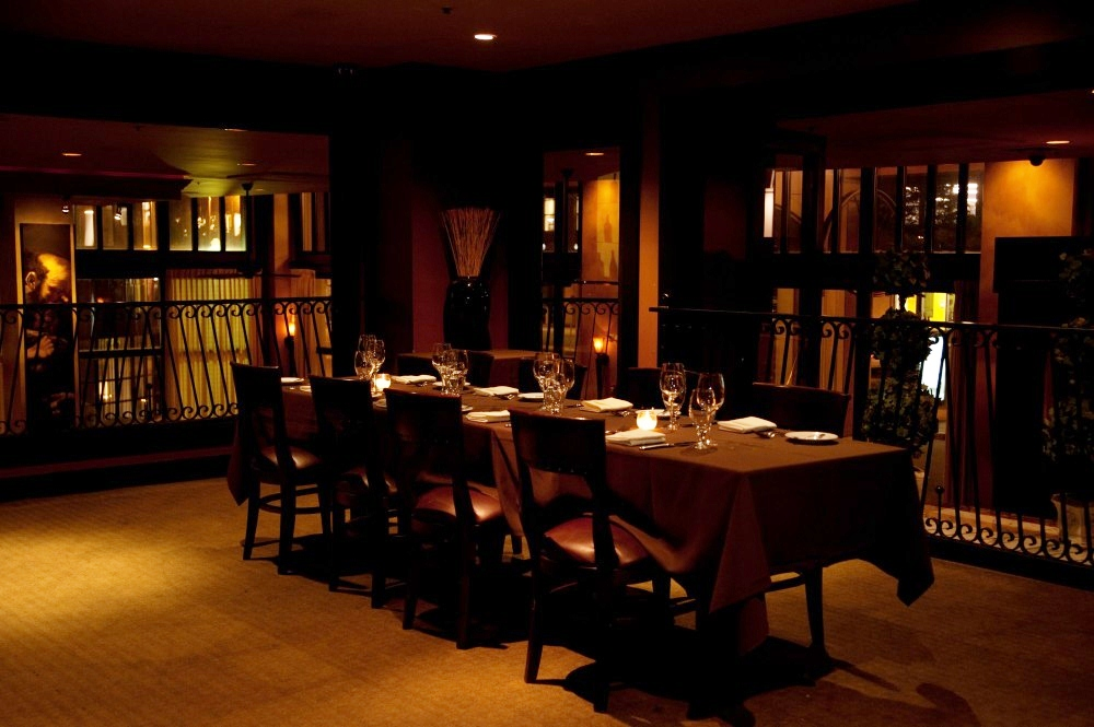 the mezzanine - Private Dining Rooms
